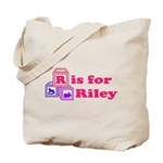 Baby Blocks Riley Tote Bag