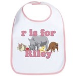 R is for Riley Bib