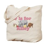 R is for Riley Tote Bag