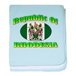 Republic of Rhodesia baby blanket