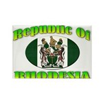 Republic of Rhodesia Rectangle Magnet
