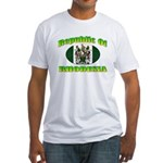 Republic of Rhodesia Fitted T-Shirt