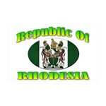 Republic of Rhodesia 35x21 Wall Decal
