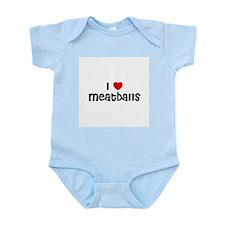 I * Meatballs Infant Creeper