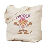 Little Monkey Nicole Tote Bag