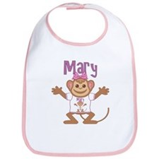 Little Monkey Mary Bib