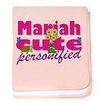 Cute Mariah baby blanket