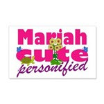 Cute Mariah 22x14 Wall Peel