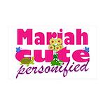 Cute Mariah 38.5 x 24.5 Wall Peel