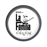 La Familia Wall Clock