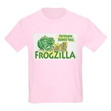 Frogzilla Fire-Croaking Frog Kids T-Shirt