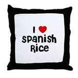 I * Spanish Rice Throw Pillow