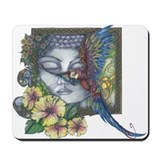 Cute Birds rainforest Mousepad