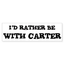 With Carter Bumper Bumper Sticker