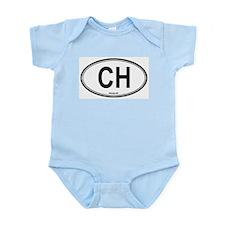 Switzerland (CH) euro Infant Creeper