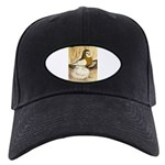 English Trumpeter Yellow Sadd Black Cap