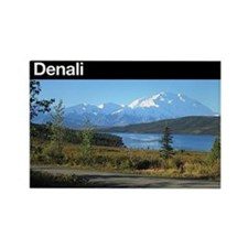 Denali National Park Rectangle Magnet