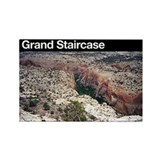 Grand Staircase-Escalante NM Rectangle Magnet