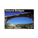 Natural Bridges NM Rectangle Magnet