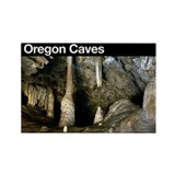 Oregon Caves NM Rectangle Magne