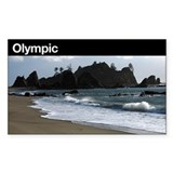 Olympic National Park Rectangle Decal