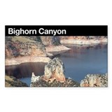 Bighorn Canyon NRA Rectangle Decal