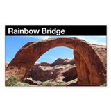 Rainbow Bridge NM Rectangle Decal