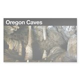 Oregon Caves NM Rectangle Decal