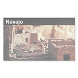 Navajo National Monument Rectangle Decal