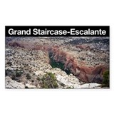Grand Staircase-Escalante NM Rectangle Decal