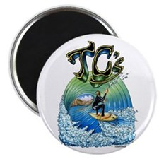 TCs shirt white bk Magnets
