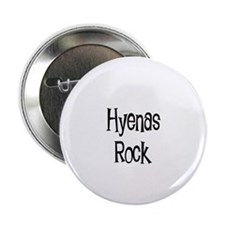 Hyenas Rock Button