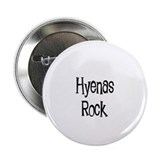 "Hyenas Rock 2.25"" Button (10 pack)"