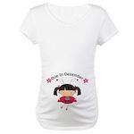 Cute December Pregnancy T-Shirt