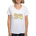 Obama Garden Women's V-Neck T-Shirt