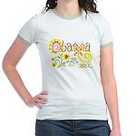 Obama Garden Jr. Ringer T-Shirt