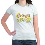 Obama Garden Jr. Ringer T-Shirt