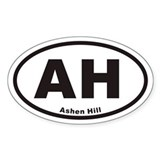 AH Ashen Hill Decal