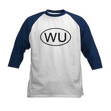 WU - Initial Oval Tee