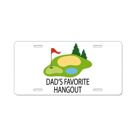 Golf Dad Funny Golfing License Plate Gift