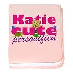 Cute Katie baby blanket