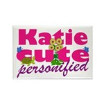 Cute Katie Rectangle Magnet (100 pack)