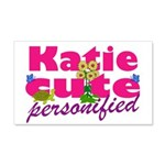 Cute Katie 22x14 Wall Peel