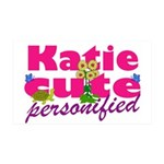 Cute Katie 38.5 x 24.5 Wall Peel
