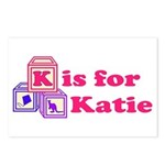 Baby Blocks Katie Postcards (Package of 8)
