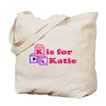 Baby Blocks Katie Tote Bag