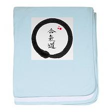 Cute Aikido baby blanket