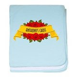 ANTHONEY'S CROSS baby blanket