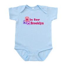 Baby Name Blocks - Brooklyn Infant Bodysuit
