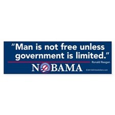 Man Is Not Free Unless Government is Limited Nobam